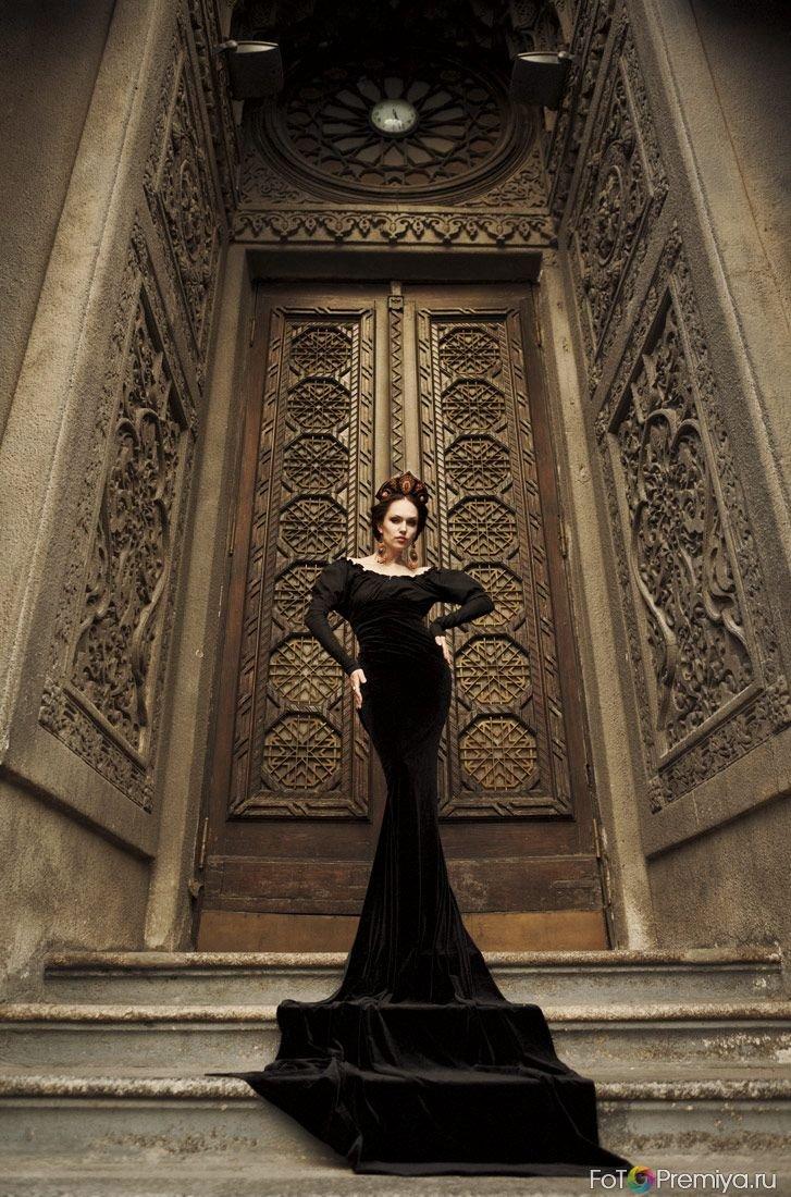 Идеи в черном платье