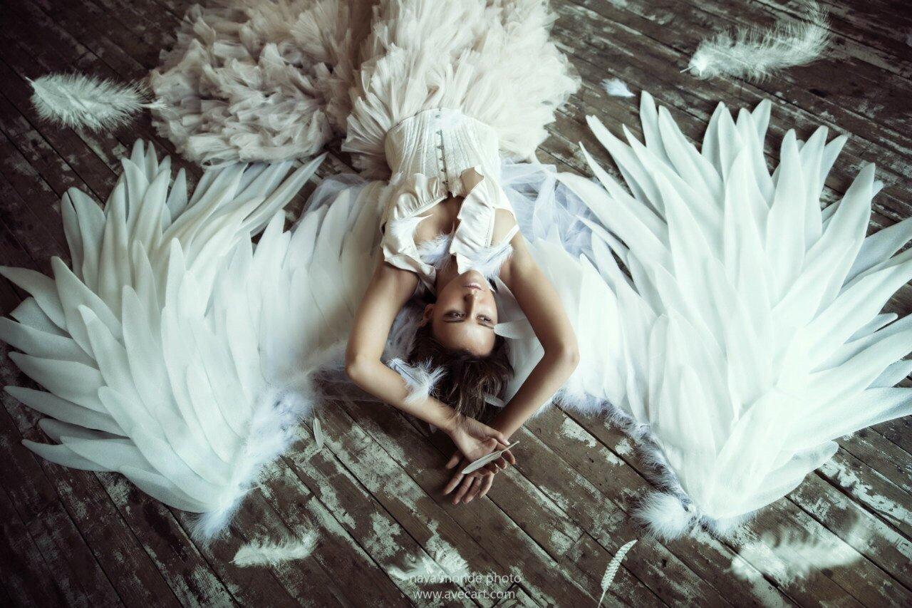 идеи для фотосессии ангел этом